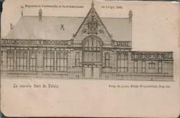 Liege La Nouvelle Gare Du Palais Expo 1905 - Bahnhöfe Ohne Züge