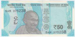 India NEW - 50 Rupees 2018 - UNC - India