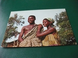 COSTUME COSTUMI COPPIA MISSIONI AFRICANE S.M.A. GENOVA VIA BORGHERO FERIOLE DI TEOLO PADOVA - Missioni