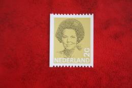 2 Gld Rolzegel Koningin Beatrix In Zwart NVPH 1245 1245A (Mi 1214)  1982  POSTFRIS / MNH / ** NEDERLAND / NIEDERLANDE - Ongebruikt