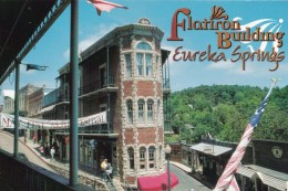 Flatiron Building, Eureka Springs, Arkansas, USA Unused - - United States