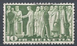 Switzerland 1938. Scott #246 (U) Citizens Voting * - Oblitérés