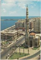 Egypt, Alexandria, Kaid Ibrahim Mosque, Used Postcard [21179] - Alexandria