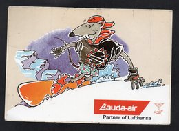 LAUDA AIR * SNOW SURF SOURIS *-  AUTOCOLLANT   N°2756 - Stickers