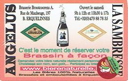 Etiquette De La Brasserie Brootcoorens A. Rue De Maubeuge, Erquelinnes (Angelus, La Sambrienne) - Bière