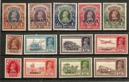 KUWAIT 1939 SET SG 36/51w (LIGHTLY) MOUNTED MINT Cat £375 - Kuwait