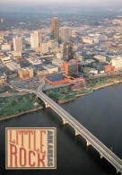 Aerial View Of Little Rock, Arkansas, USA Unused - Little Rock