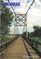 The Winkley Swinging Bridge Spanned Little Red River 1912 - 1989 , Arkansas, USA Unused - United States