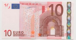 67 - BILLET 10 EURO 2002 NEUF Signature Wim Duisenberg N° X11988050564 Imp R012D4 - EURO