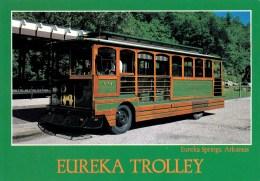Eureka Trolley, Eureka Springs, Arkansas, USA Unused - United States