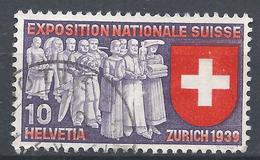 Switzerland 1939. Scott #247 (U) Deputation Of Trades And Professions * - Oblitérés