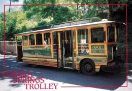 Eureka Springs Trolley, Eureka Springs, Arkansas, USA Unused - United States
