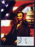 Abraham Lincoln - Bulgaria / Bulgarie 2009 MC - Maximumkarten (MC)