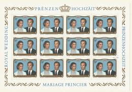 Luxembourg 1981 Mint Sheet  MNH(**) - Blocks & Kleinbögen