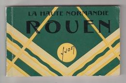76 - ROUEN / CARNET COMPLET De 20 CARTES POSTALES ANCIENNES - Rouen
