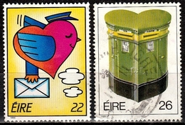 Irland SG.# 630-631 Gestempelt (4004) - 1949-... Republik Irland