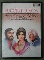 # Giacomo Puccini Tosca - Freni, Pavarotti, Milnes 2 Audio Cassette Con Libretto - Cassette