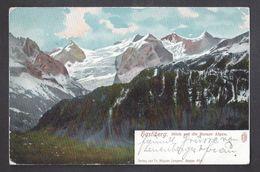 Schweiz Suisse 1906: HASLIBERG Blick Auf Die Berner Alpen - Mit O HOHFLUH (OBERHASLE) 27.VIII.06 - BE Berne