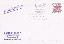 28767. Carta Impresos, Drucksache ESSEN (Alemania Federal) 1985.  Deutsche Spielertage - [7] República Federal
