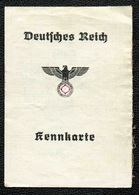 KENNKARTE AUSWEISS Carte D'identité Allemande 1941 - 1939-45