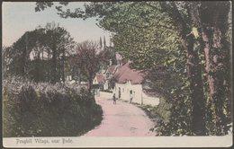 Poughill Village Near Bude, Cornwall, C.1905-10 - Thorn Postcard - England