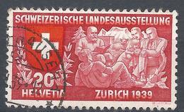 Switzerland 1939. Scott #251 (U) Swiss Family * - Oblitérés