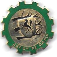 42e Cie De Camp ( 5e DB - F.F.A ) - Insigne émaillé Drago Romainville - Landmacht