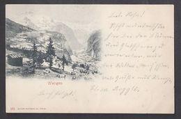 Schweiz Suisse 1900: Wengen (EDITION PHOTOGLOB CO, ZÜRICH) Mit O WENGERNALP-SCHEIDEGG  15.VI.00 - BE Berne