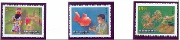 Taiwan 1988 Republic Of China Traditional Handicrafts Art Cultures Folklore Candy Sugar Fish Stamps MNH Sc#2628-30 - Food