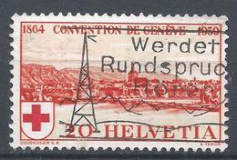 Switzerland 1939. Scott #268 (U) View Of Geneva * - Oblitérés