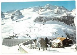Veneto Marmolada Pian Di Fedaia Viaggiata 1987 - Italia