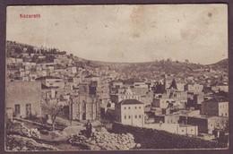 1920s Israel Used Postcard Showing Nazareth - Israel