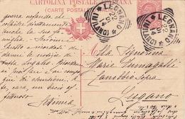 Postkarte, Ungewöhnlicher Schnitt (br4187) - Entiers Postaux