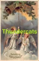 CPA EN RELIEF GAUFREE  ANGE EMBOSSED ANGEL  CARD - Anges