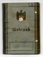 WEHRPASS Allemand 1937 - Documents