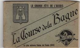 SEMUR: La Course De La BAGUE  Carnet Complet De Ses 10 CPA  Sans Date  TTTB état - Semur