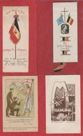 Vend Collection - Image Pieuse - Lot De 4 Images - LE CHRIST ET LA NATION -  A23 - Imágenes Religiosas