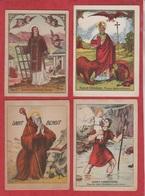 Vend Collection - Image Pieuse - Lot De 4 Images - DIFFERENT  SAINT - Ed. François Charleroi - A20 - Devotion Images