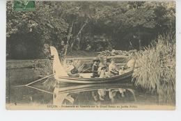 LUÇON - Promenade En Gondole Sur Le Grand Bassin Au Jardin Public - Lucon