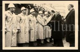 Postcard / ROYALTY / Belgique / België / Roi Baudouin / Koning Boudewijn / Porte Louise / 1957 / Bruxelles - Transport Urbain En Surface