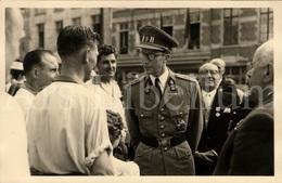 Postcard / ROYALTY / Belgique / België / Roi Baudouin / Koning Boudewijn / Balle Au Tamis / Sablon / 1957 - Places, Squares