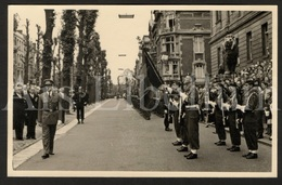 Postcard / ROYALTY / Belgique / België / Roi Baudouin / Koning Boudewijn / Charleroi / Monument Jules Destrée / 1957 - Charleroi