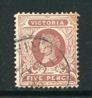 VICTORIA- Y&T N°105- Oblitéré - Used Stamps