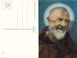 Padre Pio - Hologramme ( 3D) - Saints