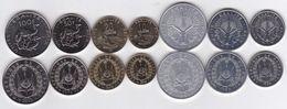 Djibouti - 1 2 5 10 20 50 100 Francs 1991 - 2016 UNC Set 7 Coins Ukr-OP - Djibouti