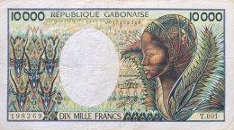 Gabon 10.000 Francs, P-7a - Gabon
