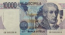Italy 10.000 Lire, P-112b 1984 ERROR PRINT UNC - 10.000 Lire