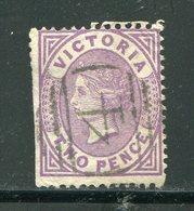 VICTORIA- Y&T N°70- Oblitéré (défaut Dentelure à Gauche) - Used Stamps