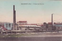 BEAUMONT SUR OISE - L'Usine Des Ciments - Beaumont Sur Oise