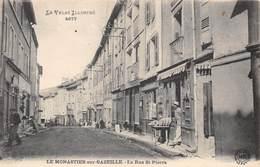 43-LE MONESTIER-SUR-GAZEILLE- LA RUE SAINT-PIERRE - France